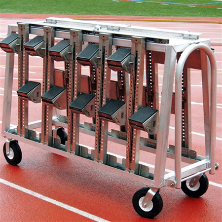 AAE Aluminum Block Cart w/ Lock