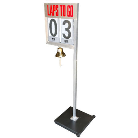 AAE Bell Lap Counter - Rollaway Base