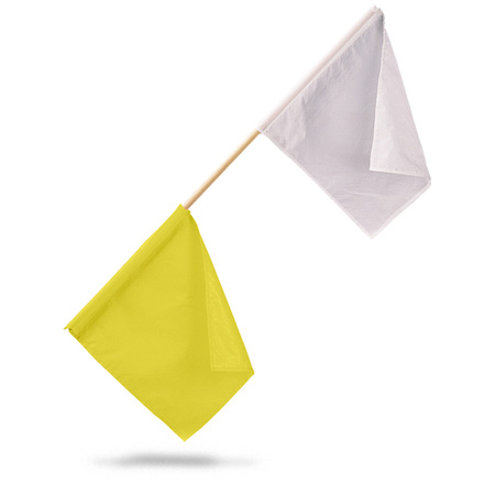 FTTF Official Flag yellow/white