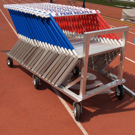 AAE Aluminum Lane Hurdle Cart (10)