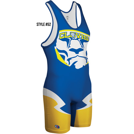 Cliff Keen Sublimated Singlet Style 52