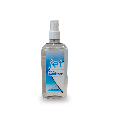 Jet Hand Sanitizer 8oz Spray